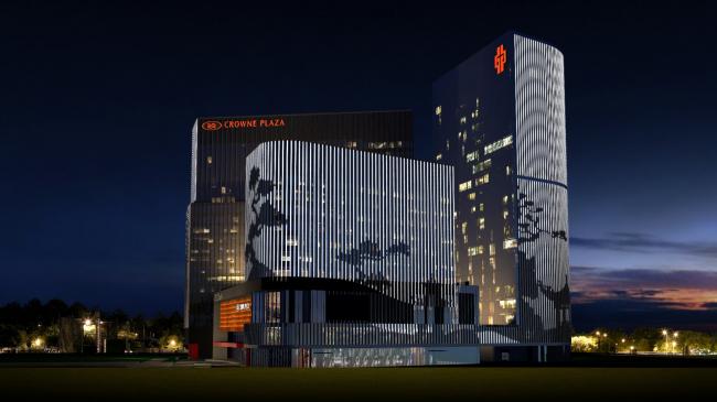 Бизнес-центр «Парк Хуамин» на улице Вильгельма Пика, проект, 2013–2017