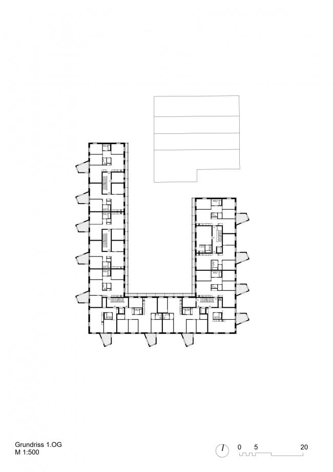Жилой комплекс в округе Зеен в Винтертуре