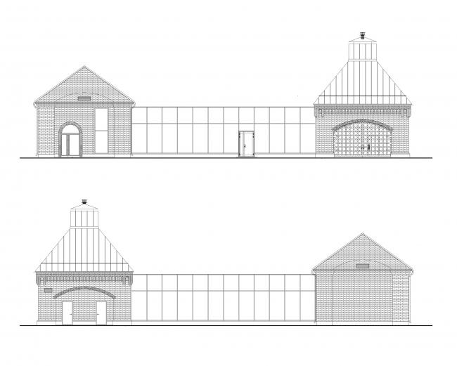 Музейно-выставочный комплекс Обуховского завода. Фасад
