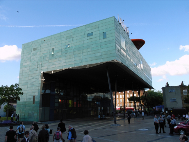 Библиотека района Пекхэм. Фото: Fin Fahey via flickr.com. Лицензия CC BY-SA 2.0
