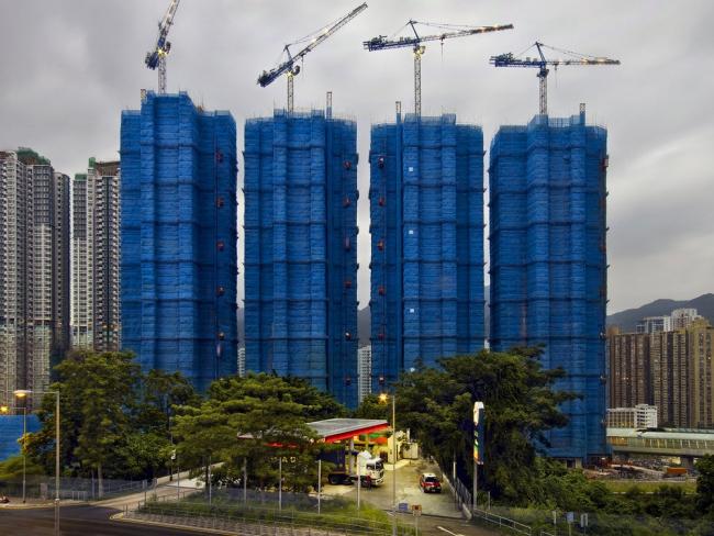 Снимок из серии «Кокон». Гонконг, 2009 год