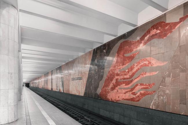 Станция метро «Нагатинская»
