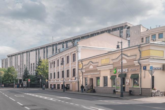 Здание Фельдъегерской службы