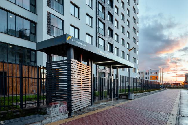 Жилой квартал компании «Форум-Групп» в жилом районе «Солнечный»