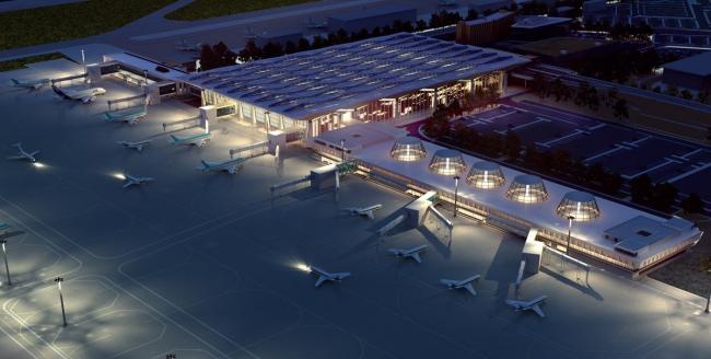 Новый терминал  Аэропорт «Пулково», Россия