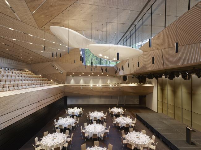 Концертный зал в Андерматте