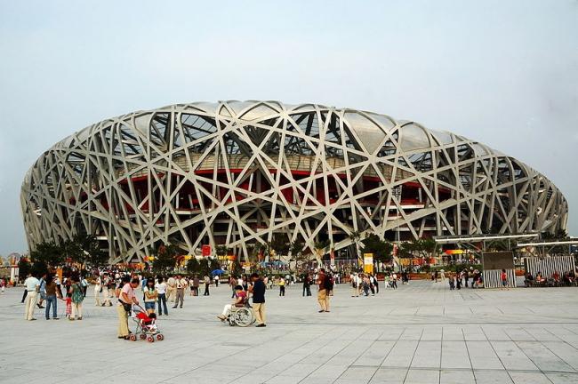 Национальный Олимпийский стадион. Фото: li yong via Wikimedia Commons. Лицензия CC-BY-SA-2.0
