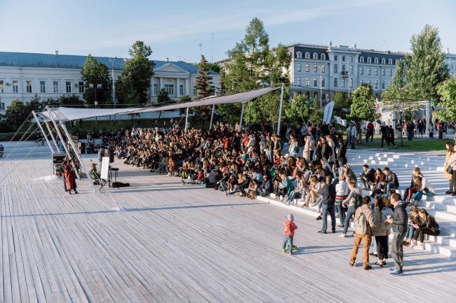 Развитие общественных пространств Республики Татарстан. Амфитеатр в парке «Чёрное озеро», Казань