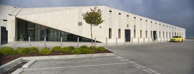 Палестинский музей. Террасы как основной источник вдохновения архитектурных форм музея