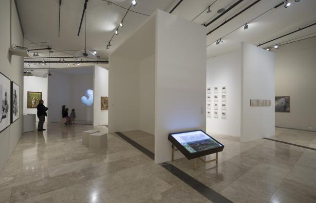 Палестинский музей. Выставочный зал