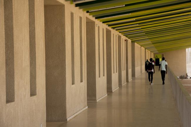 Лекторий в Университете имени Алиуна Диопа. Галерея