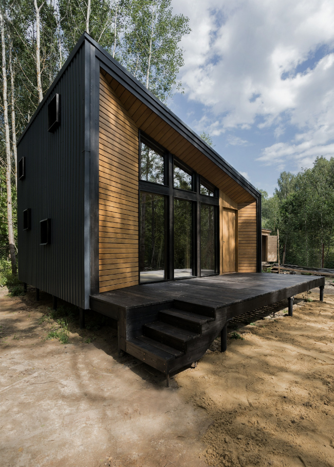 First House. СНТ «Геолог». Архитектор Егор Егорычев