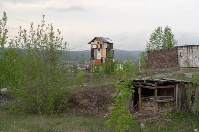 Алексей Лучко. Стайка 2607. Челябинская область, город Сатка