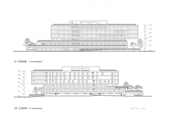 Здание центра ГО, проектного бюро и архива уезда Кайхуа
