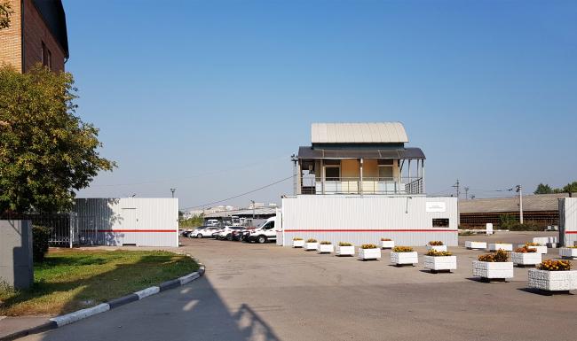 Рижский грузовой двор со стороны Третьего транспортного кольца