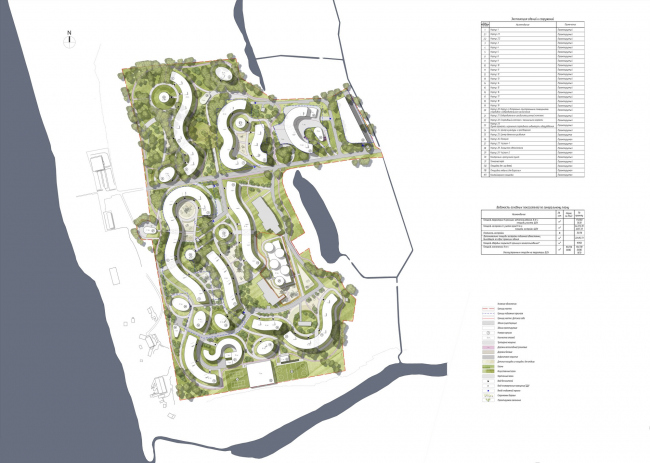 """Health park """"Svetly Mir VNUTRI"""". Project, 2015. Master plan"""