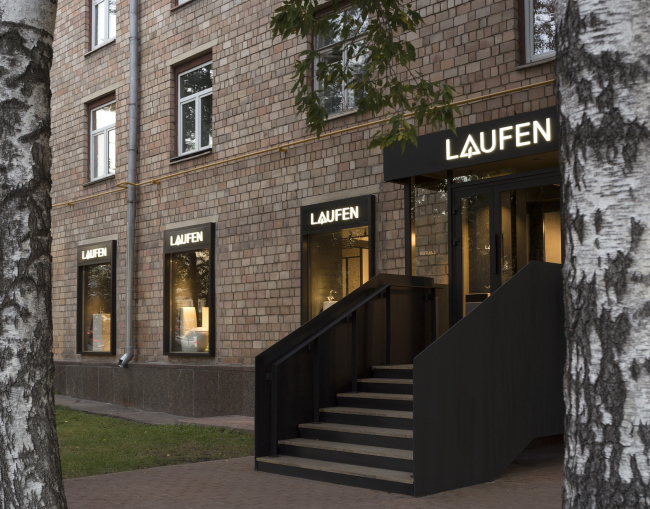Монобрендовый бутик LAUFEN в Москве