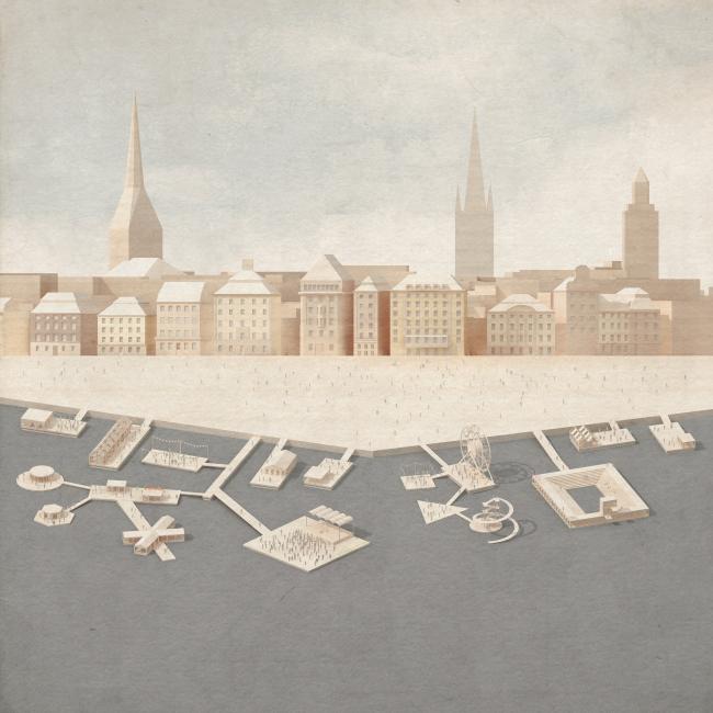 «Писано в воде», проект Hermansson Hiller Lundberg