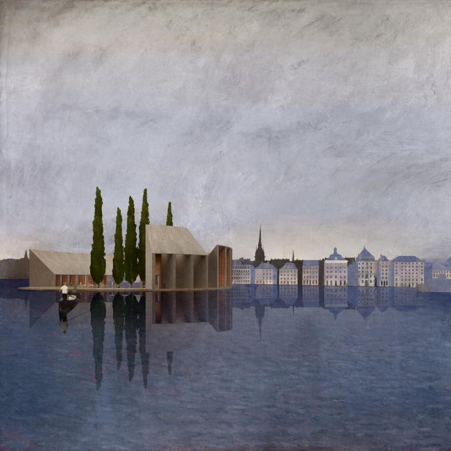 «Остров мертвых», проект Нильcсона Рама