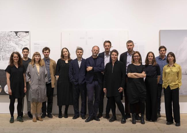 Авторы работ для выставки «Архитектурные проекты: Шеппсброн»
