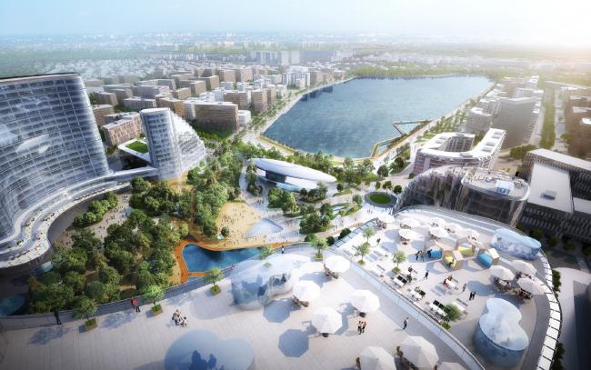 Рублево-Архангельское, архитектурно-градостроительная концепция. Проект – победитель конкурса