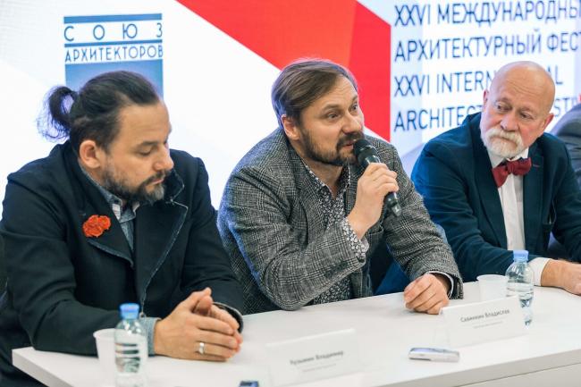 Владимир Кузьмин, Владислав Савинкин, Николай Шумаков. Зодчество′2018