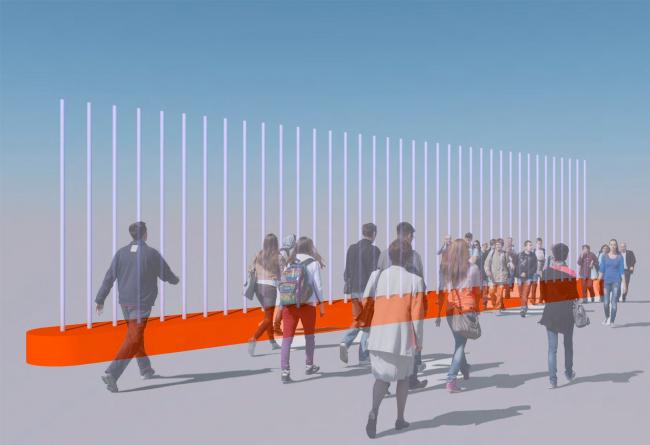 Проект экспозиции фестиваля «Зодчество» в Гостином дворе: первоначальная визуализация