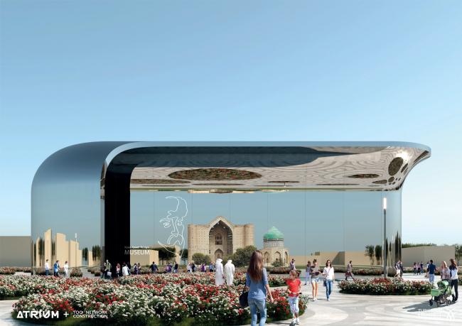 Музей Ходжи Ахмеда Яссауи. Вариант 1