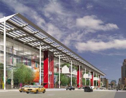 Ричард Роджерс. Проект реконструкции Когресс-центра Джекоба К. Джэвица. 2006