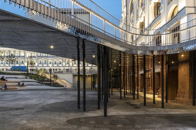 «Музейный парк». Благоустройство пешеходной зоны и территории, прилегающей к Политехническому музею