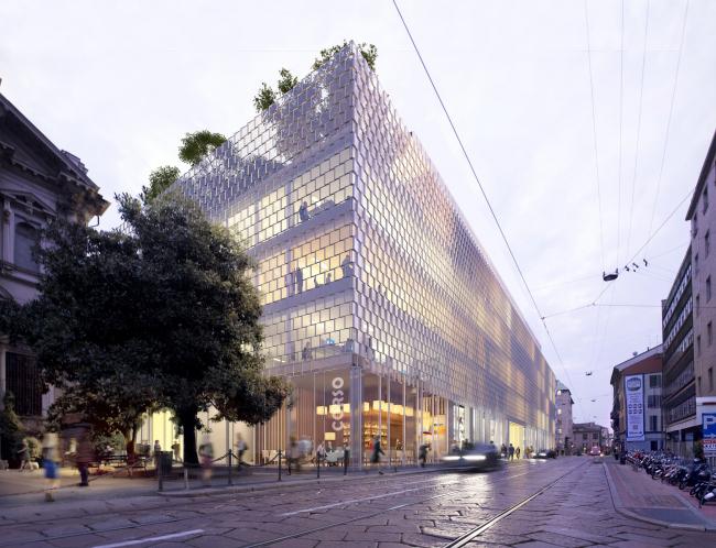 Офисный комплекс Corso Italia 23