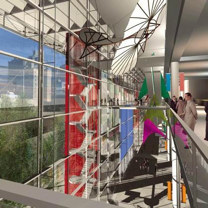 Проект реконструкции Когресс-центра Джекоба К. Джэвица