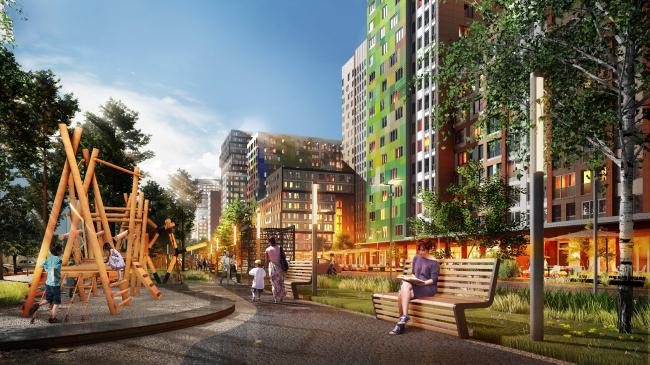"""""""Bunin"""" housing complex"""