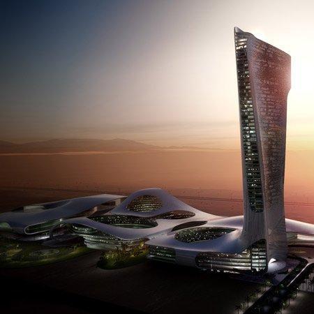 Комплекс «Ворота Рас-эль-Хайма». Проект 2008