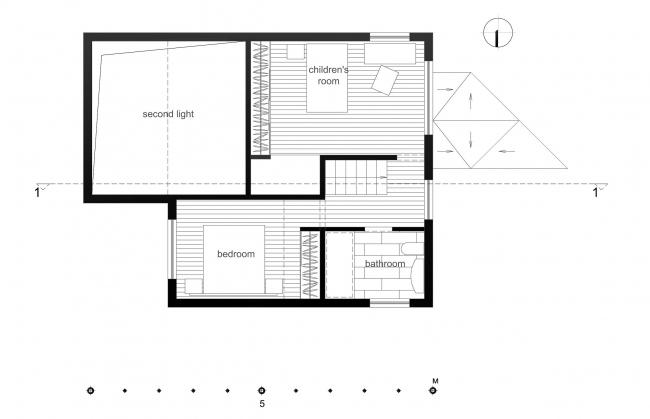 План второго этажа. Дом Ратниковых