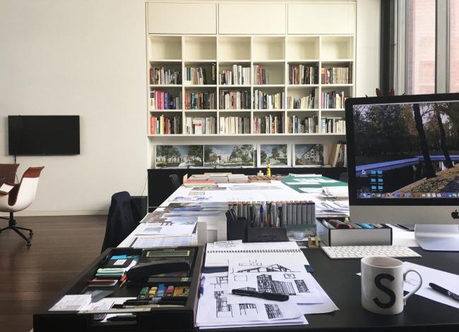 Офис Sergey Skuratov architects в Москве