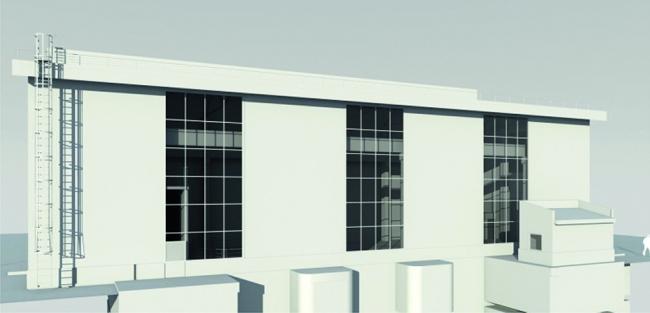Визуализация здания Усть-Джегутинской МГЭС
