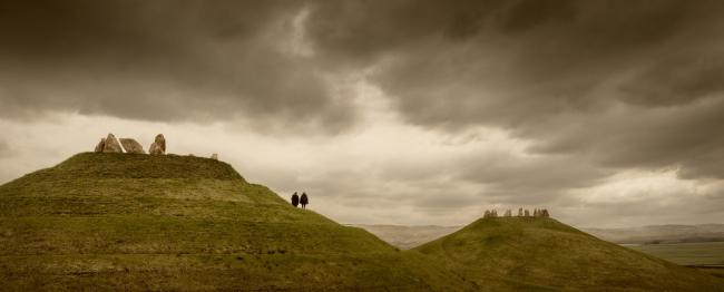 Парк  Crawick Multiverse на юге Шотландии на месте угольного карьера. 2015