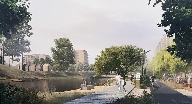 Концепция развития и благоустройства общественных территорий набережной реки Яуза г. Мытищи в рамках проекта формирования единого рекреационного пространства «Парк Яуза»
