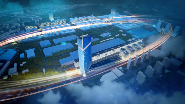 Национальный космический центр в Москве. Проект, 2019