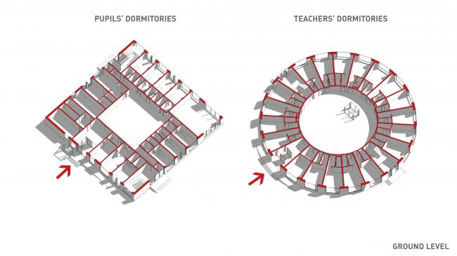 E.M. Primakov Gymnasium, 2nd stage. The complex of dormitories