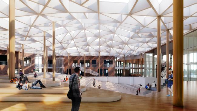E.M. Primakov Gymnasium, 2nd stage. The lobby
