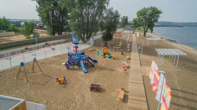 Общественный пляж «Кама»