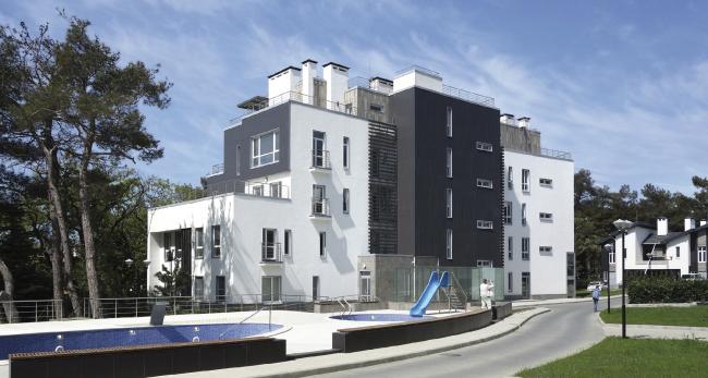 Корпус апартаментов А2. Комплекс апартаментов и таунхаусов FELLINI