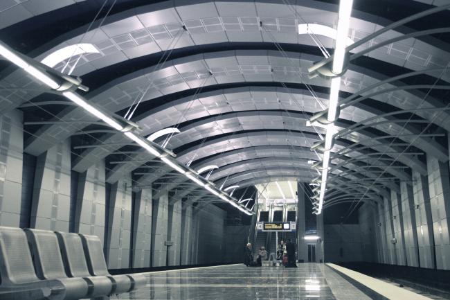 Подземный железнодорожный терминал Аэроэкспресса