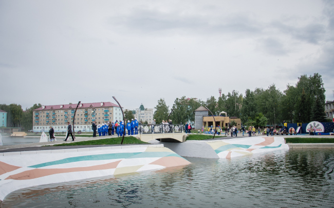 Набережная и парк «Авангард»
