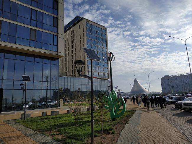 Комплекс «Зеленый квартал» в Нур-Султане