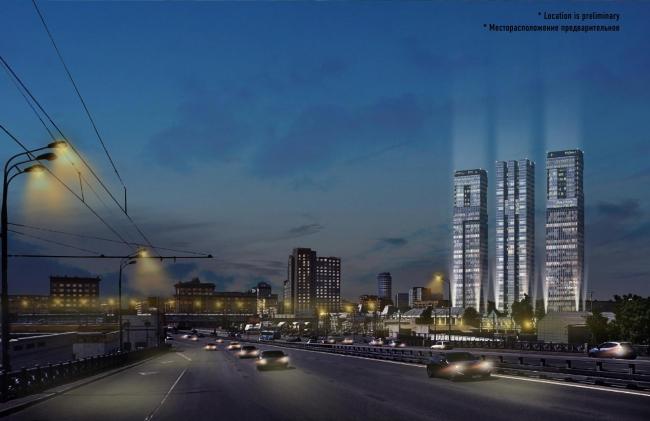 Вариант 1  Эскизный проект небоскребов РЖД