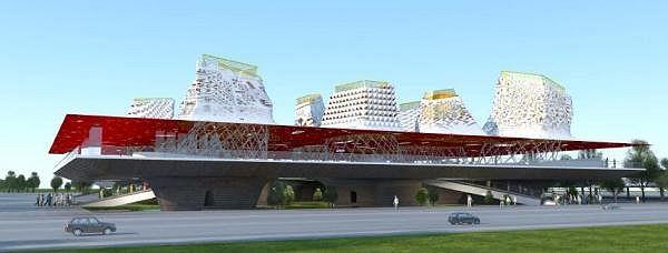 «Буян-град. Города и легенды» Конкурсный проект концепции российского павильона на ЭКСПО-2010. Архитектурное бюро П.А.П. (PAPER / TOTEMENT)