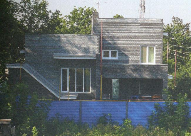 Дом площадью 230 кв.м. Архитектор: Стадников Виталий